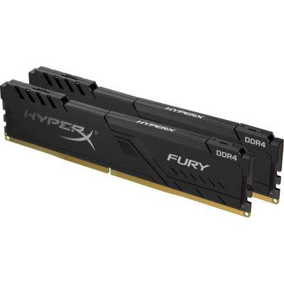 Kingston HyperX Fury Black HX432C16FB3K2-16 купить оперативную память Kingston HyperX Fury Black HX432C16FB3K2-16 цена в интернет магазине KNS