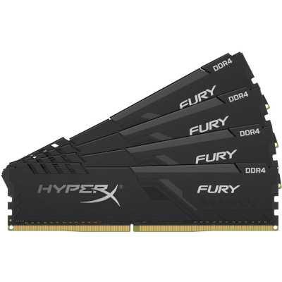 оперативная память Kingston HyperX Fury Black HX436C17FB3K4/32