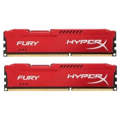 оперативная память Kingston HyperX Fury Red HX316C10FRK2/8