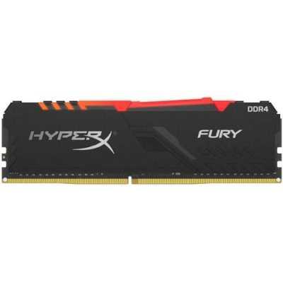 оперативная память Kingston HyperX Fury RGB HX424C15FB4A/16
