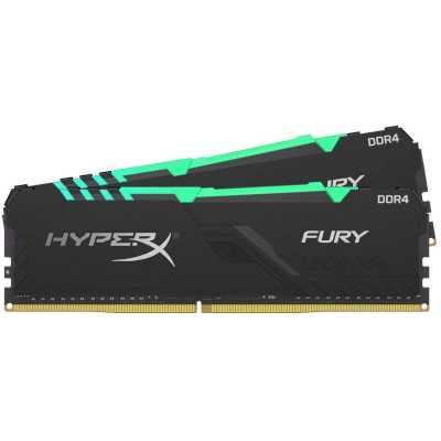оперативная память Kingston HyperX Fury RGB HX430C16FB3AK2/64