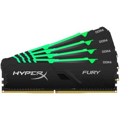 оперативная память Kingston HyperX Fury RGB HX430C16FB3AK4/128