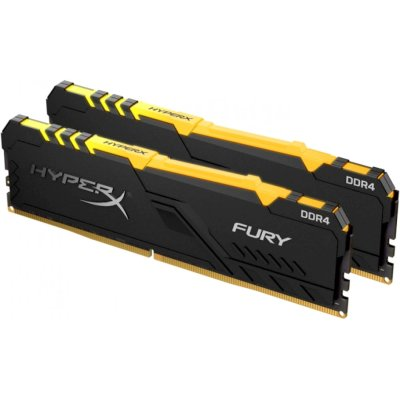 оперативная память Kingston HyperX Fury RGB HX432C16FB3AK2/32