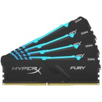 Оперативная память Kingston HyperX Fury RGB HX432C16FB3AK4-64