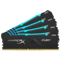 Оперативная память Kingston HyperX Fury RGB HX434C16FB3AK4/64