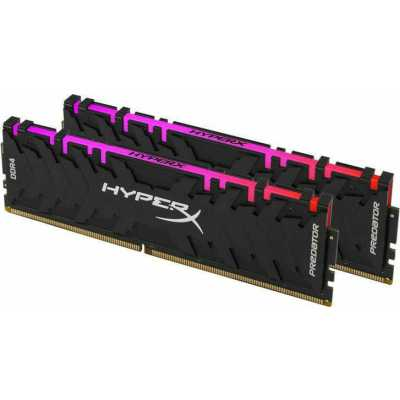 оперативная память Kingston HyperX Predator RGB HX430C16PB3AK2/64
