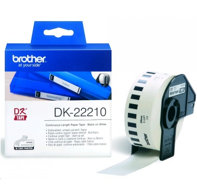 клеящаяся лента Brother DK22210