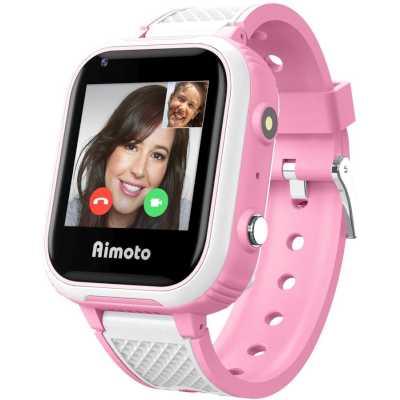 умные часы Knopka Aimoto Pro Indigo 4G Pink 9500103