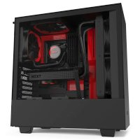 NZXT H510 Black-Red