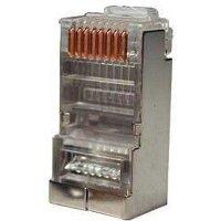 Коннектор Hyperline PLUG-8P8C-U-C5-SH