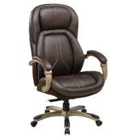 Офисное кресло Бюрократ T-9919-BROWN
