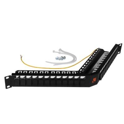 патч-панель Lanmaster LAN-PPAS24OK-STP