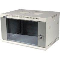 Телекоммуникационный шкаф TWT TWT-CBWPG-9U-6X4-GY