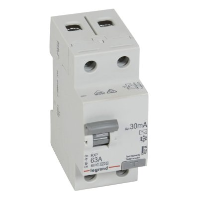 выключатель дифференционного тока Legrand 30мА тип AC RX3 402026 2 полюса