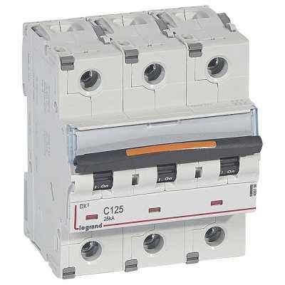 автоматический выключатель Legrand DX3 3P (C) 25kA 409790
