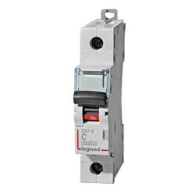 автоматический выключатель Legrand DX3-E 1P (С) 6kA 20 А 407265