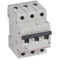 Автоматический выключатель Legrand RX3 3P (C) 4,5kA 50А 419713