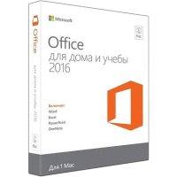 Программное обеспечение Microsoft Office Mac Home and Student 2016 GZA-00924