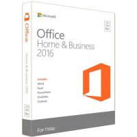 Программное обеспечение Microsoft Office Mac Home Business 2016 W6F-00613