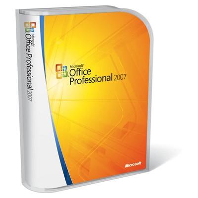 программное обеспечение Microsoft Office Professional 2007 269-13752-D