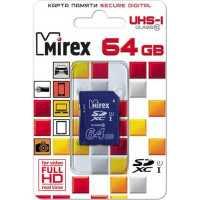 Карта памяти Mirex 64GB 13611-SD10CD64