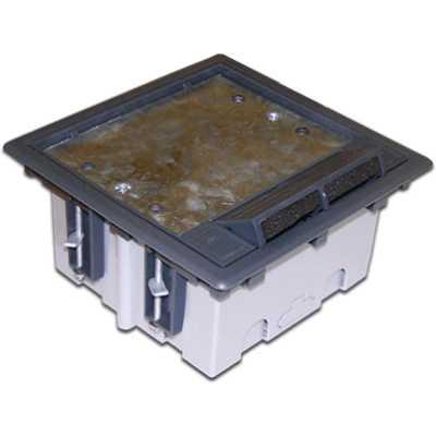 монтажная коробка Lanmaster LAN-WA-FLBP-MB-6