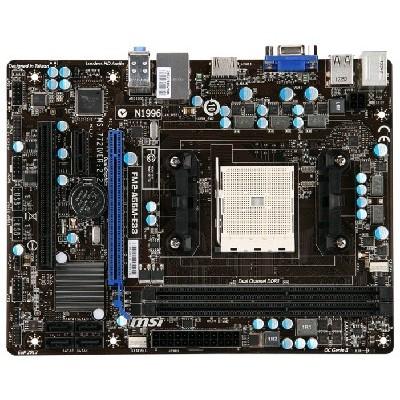 материнская плата MSI A55M-E33