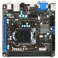 Материнская плата MSI H81I