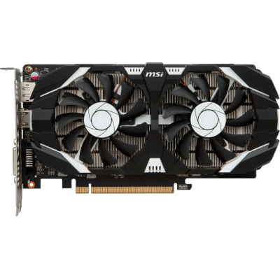видеокарта MSI nVidia GeForce GTX 1050 Ti 4GT OC