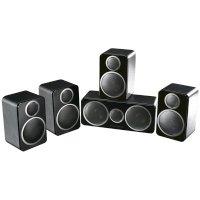 Набор акустических систем Wharfedale 5.0 DX-2 HCP System Black Leather
