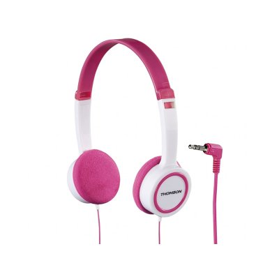 наушники Thomson HED1105P Pink-White