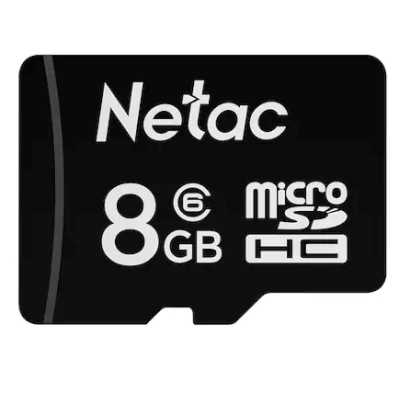 карта памяти Netac 8GB NT02P500STN-008G-S