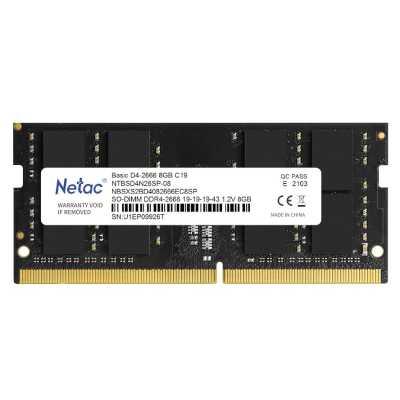 оперативная память Netac Basic NTBSD4N26SP-08