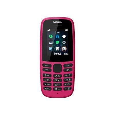 мобильный телефон Nokia 105 SS Pink
