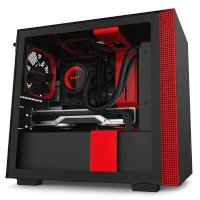 Корпус NZXT H210 Black-Red