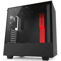 Корпус NZXT H500 Black-Red