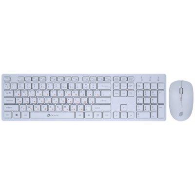 клавиатура Oklick 240M White