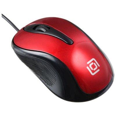 мышь Oklick 385M Black-Red