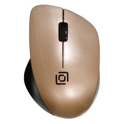 мышь Oklick 695MW Black-Gold
