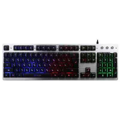 клавиатура Oklick 770G Black-Gray KW-1539