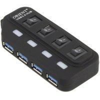 Разветвитель USB Orient BC-306