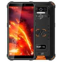 Смартфон Oukitel WP5 Pro Black-Orange