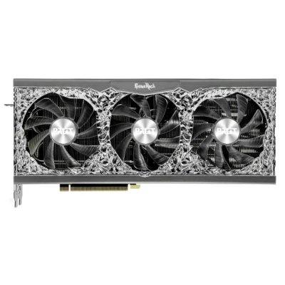 видеокарта Palit nVidia GeForce RTX 3070 GameRock OC 8Gb V1 LHR NE63070H19P2-1040G