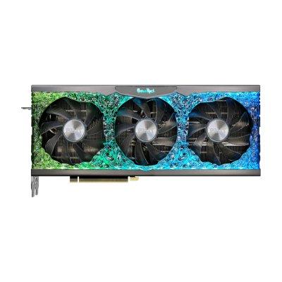 видеокарта Palit nVidia GeForce RTX 3080 GameRock OC 10Gb NED3080H19IA-1020G