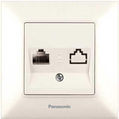 розетка компьютерная Panasonic Arkedia Slim WNTC04042BG-RU