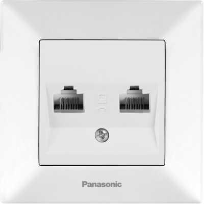 розетка компьютерная Panasonic Arkedia WMTC04072WH-RU