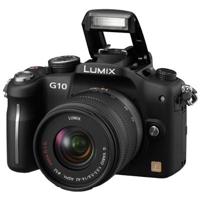фотоаппарат Panasonic DMC-G10KGC-K