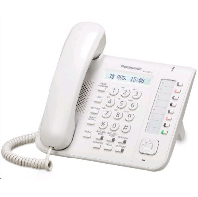 системный телефон Panasonic KX-DT521RU-W