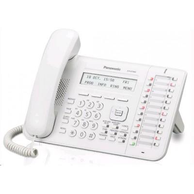 системный телефон Panasonic KX-DT543RU-W