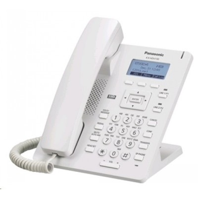 IP телефон Panasonic KX-HDV130RU White